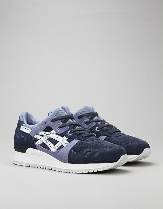 Asics Gel-Lyte III Shoes - Indian Ink/White