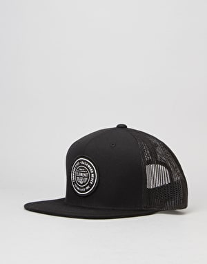 Element Devise Trucker Cap - All Black