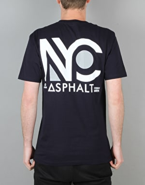 Asphalt Yacht Club New Yorker T-Shirt - Black