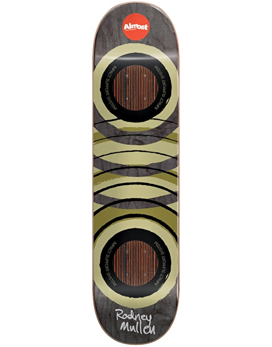 Almost Mullen Royal Rings Impact Support Pro Deck - 7.75""