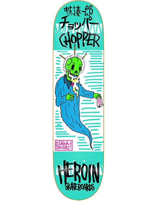 Heroin Chopper Magic Ghost Pro Deck - 8""