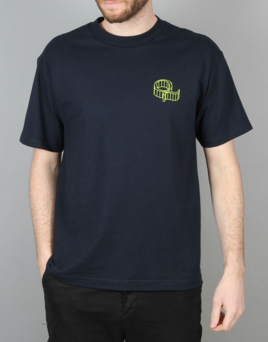 Quasi Wired T-Shirt - Navy