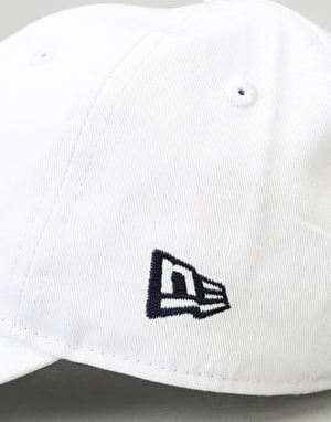 New Era 9Forty Unstructured Strapback Cap - White