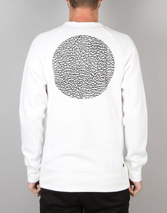 Nike SB Icon Road Crew Sweatshirt - White/Black