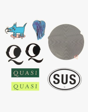 Quasi Sticker Pack (8 Stickers)