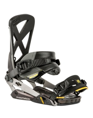 Nitro The Phantom 2016 Snowboard Bindings - Graphite