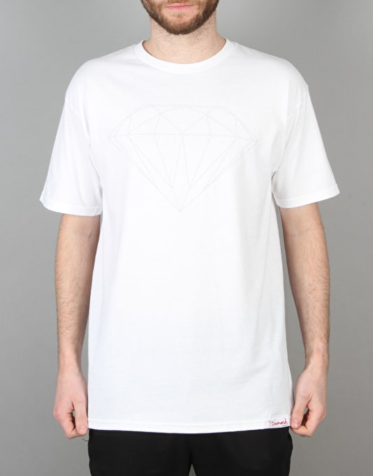 Diamond Supply Co. Tonal Brilliant T-Shirt - White