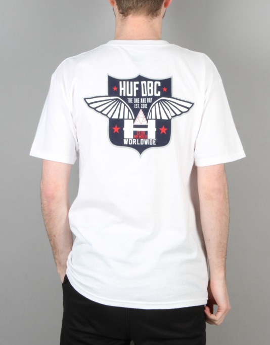 HUF Flight T-Shirt - White