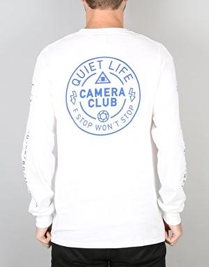 The Quiet Life Won't Stop L/S T-Shirt - White