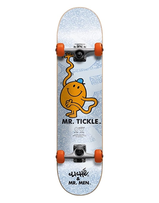 Cliché x Mr. Men Mr. Tickle Mid Complete - 7.375""