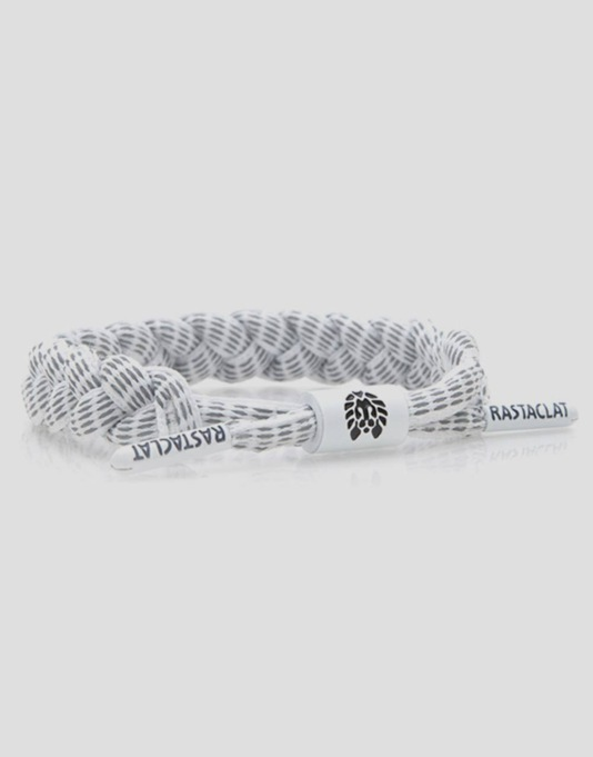 Rastaclat Toll Road Wristband - White/3M