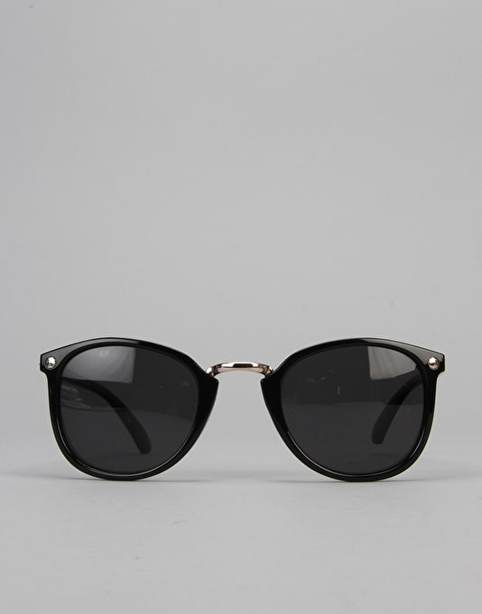 Glassy Sunhater Loy Sunglasses - Black