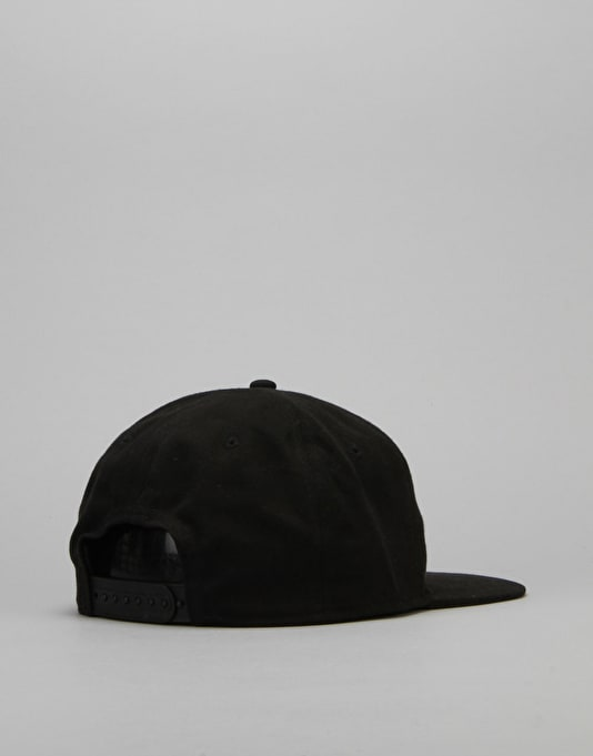 Isle Logo 6 Panel Cap - Black