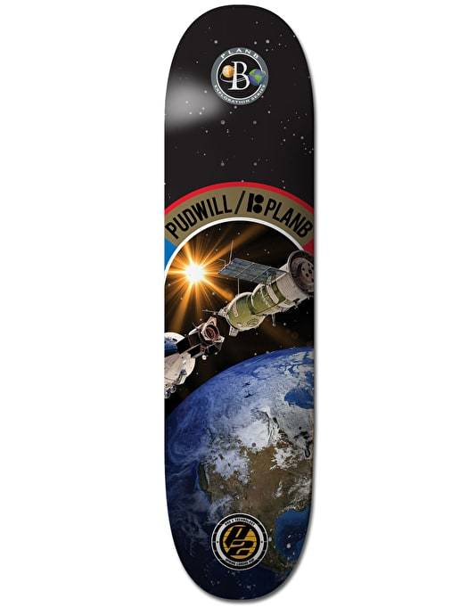 Plan B Pudwill Exploration P2 Pro Deck - 8""