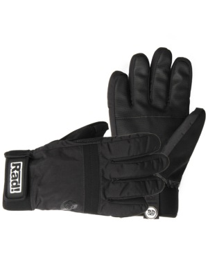 Radical Gloves The Bomb 2016 Snowboard Gloves - All Black