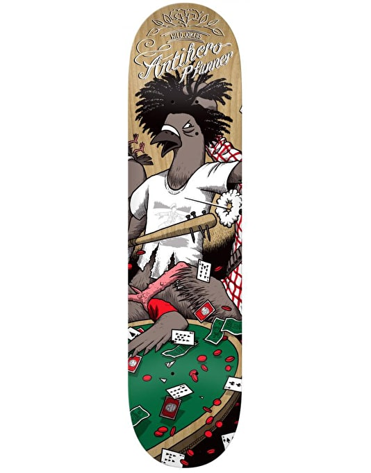 Anti Hero Pfanner Wild Jokers II Pro Deck - 8.06""