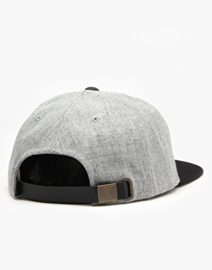 HUF x Thrasher Vintage Baseball 6 Panel Cap - Grey Heather