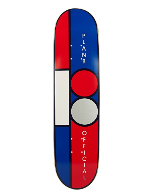 Plan B Block Mini Team Deck - 7.5""