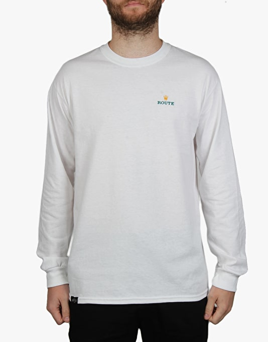 Route One Timeless LS T-Shirt - White