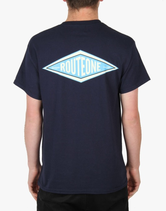 Route One Hardgoods T-Shirt - Navy
