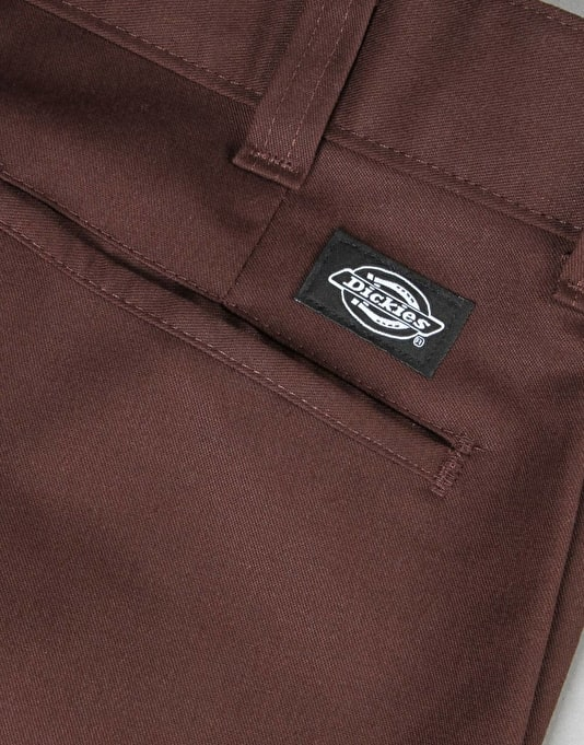 Dickies Industrial Work Pants (67 Collection) - Chocolate Brown
