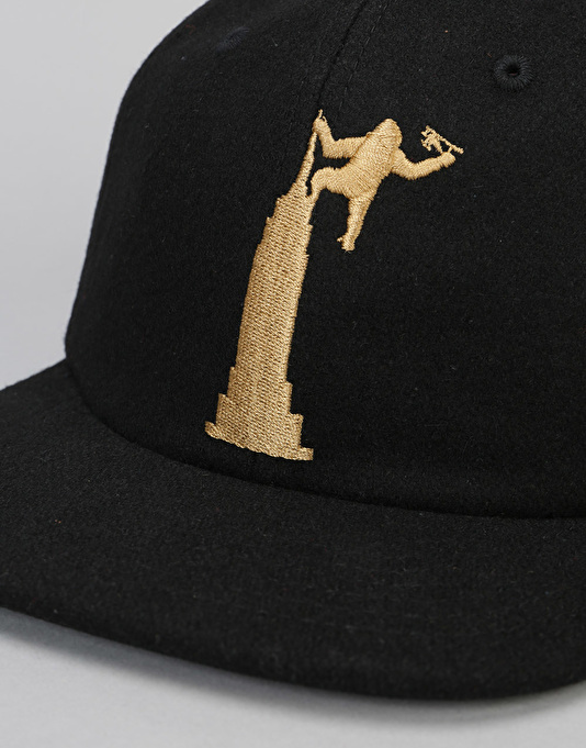 Theories Empire Snapback Cap - Black/Gold