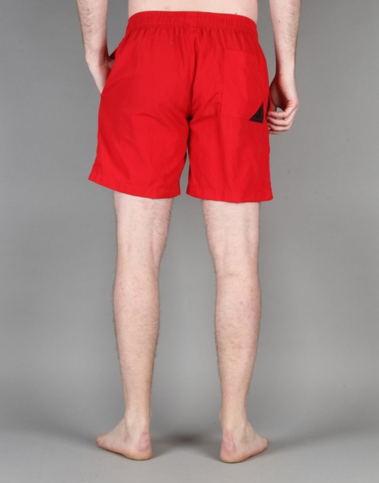"Globe Dana 16.5"" Poolshort - Fluro Red"