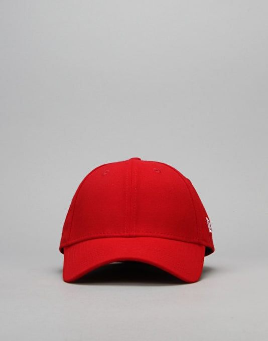 New Era 39Thirty Flag Collection Cap - Scarlet/White