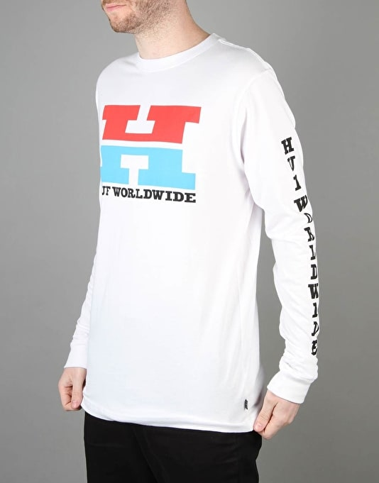 HUF Team HUF L/S T-Shirt - White