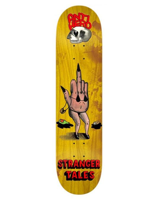 Anti Hero Stranger French Fried Eyeballs Pro Deck - 8.4""