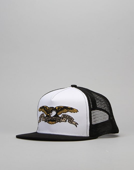 Anti Hero Eagle Trucker Cap - White/Black