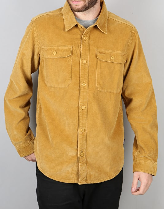 Patagonia LS Workwear Shirt - Oaks Brown (Cord)