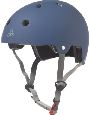 Triple 8 Brainsaver EPS Helmet - Blue Rubber