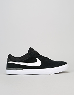 Nike SB Koston Hypervulc Skate Shoes - Black/White-Dark Grey