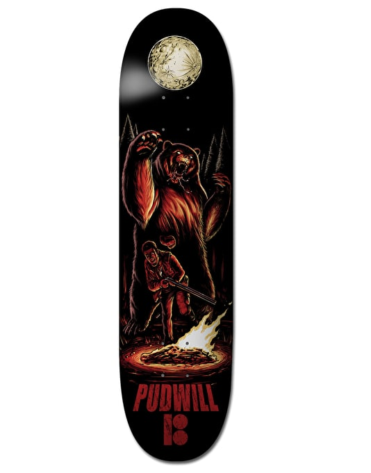 Plan B Pudwill Camp Karma BLK ICE Pro Deck - 8""