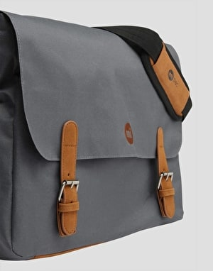 Mi-Pac Classic Messenger Bag - Charcoal Grey