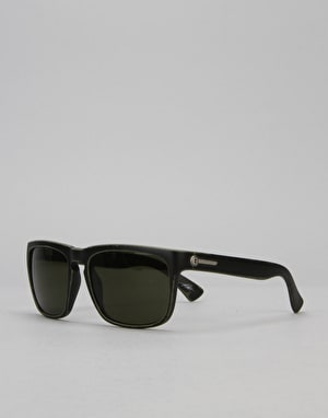 Electric Knoxville 'David G' Sunglasses - Combat Black/Medium Grey