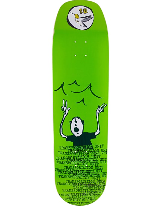 Transportation Unit Singing Beach Team Deck - 8.8""