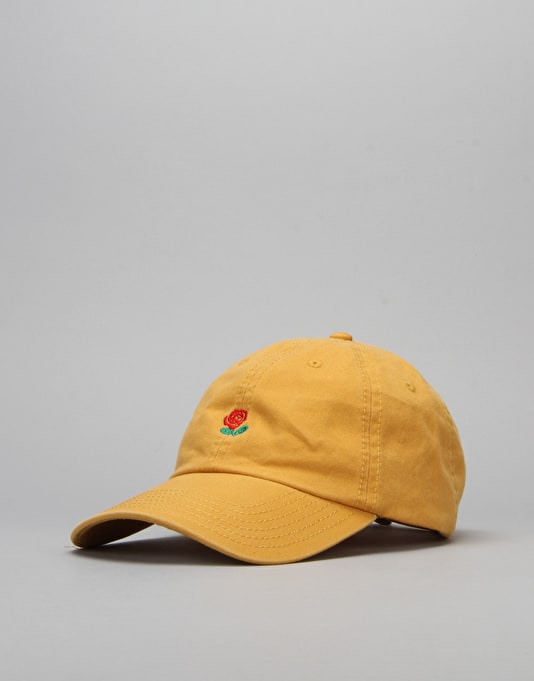 The Hundreds Rose Strapback Cap - Yellow