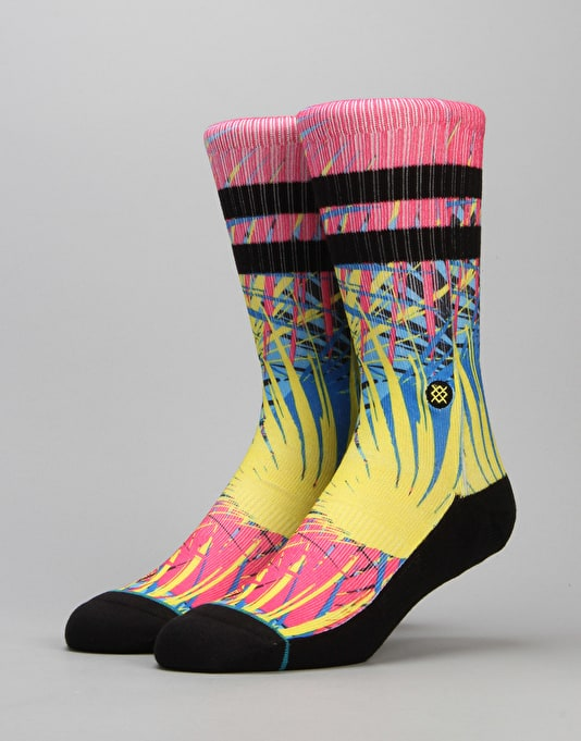 Stance Frondo Classic Crew Socks - Pink