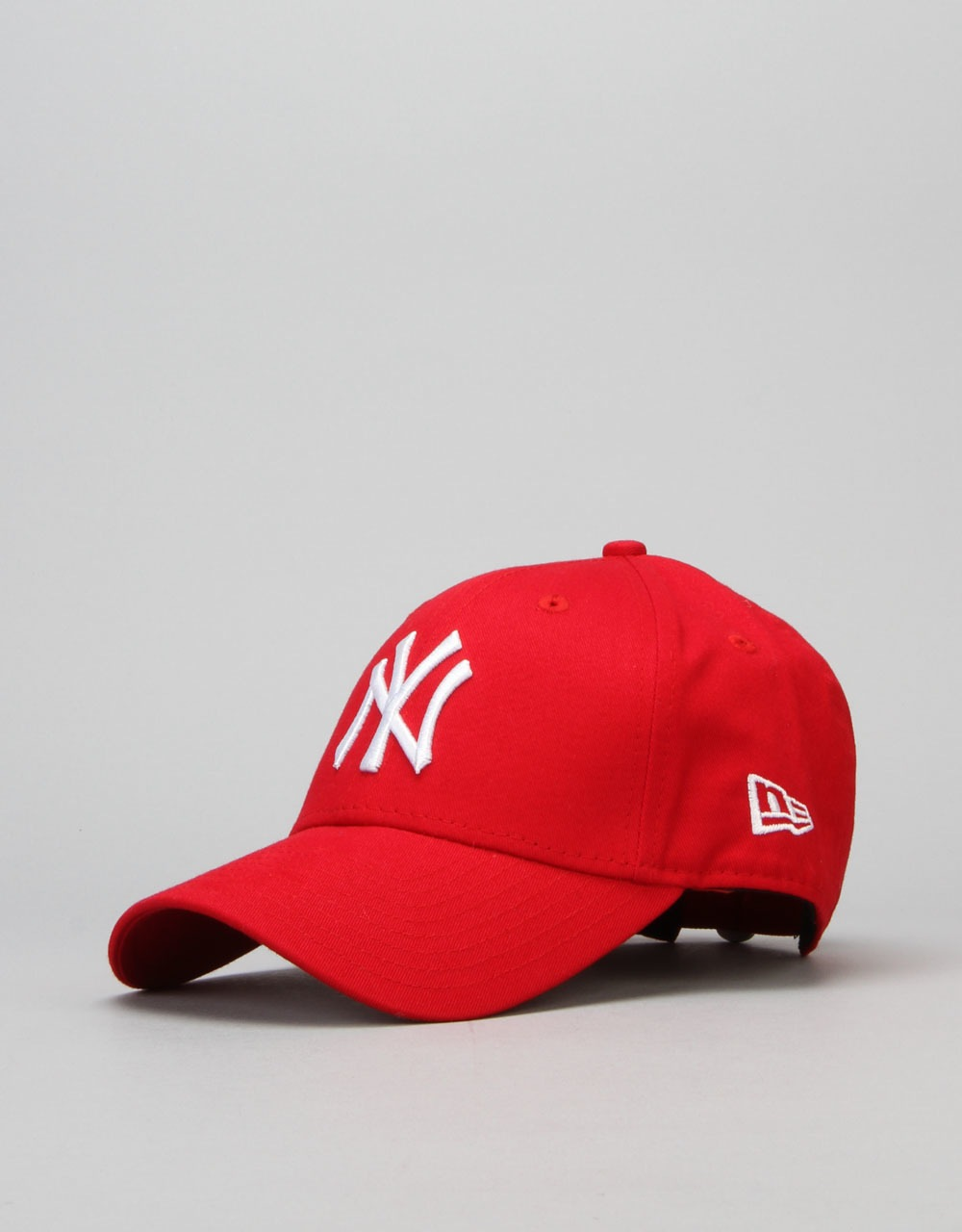 New Era 9Forty MLB New York Yankees Cap - Scarlet White  0a744c3ed72