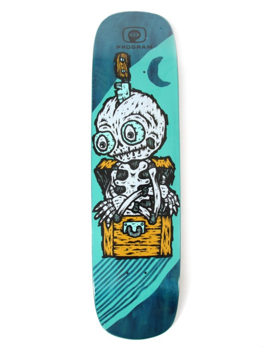 Program The Victim Skateboard Deck - 8.25""