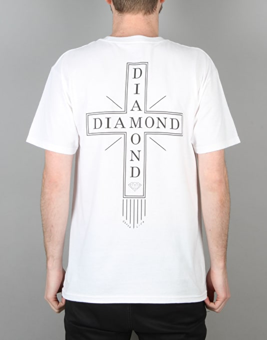 Diamond Supply Co. Skate Life Cross T-Shirt - White