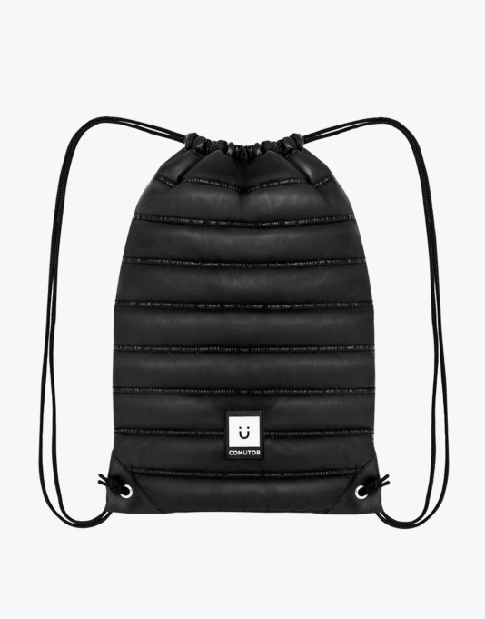 Comütor Gym Backpack - Black