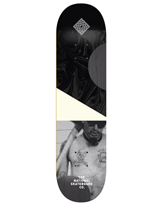 The National Skateboard Co. -GG- Team Deck - 8.25""