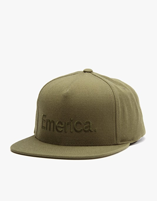 Emerica Pure Snapback Cap - Fatigue