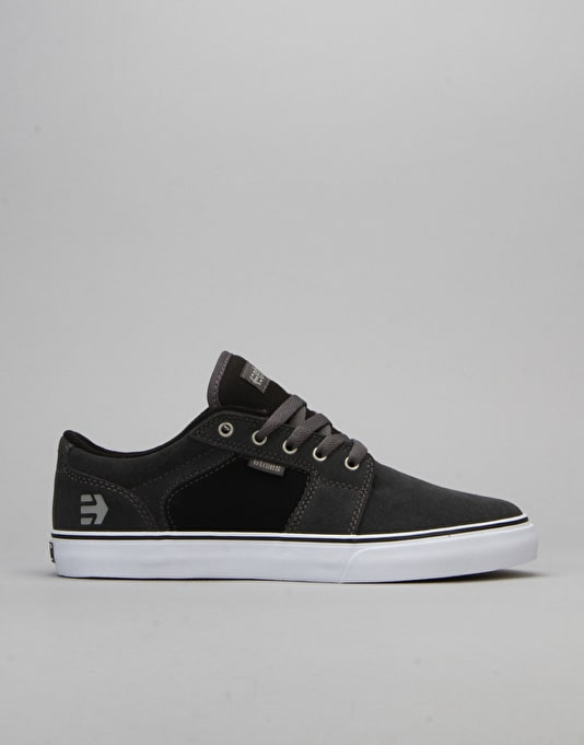 Etnies Barge LS Skate Shoes - Dark Grey/Black