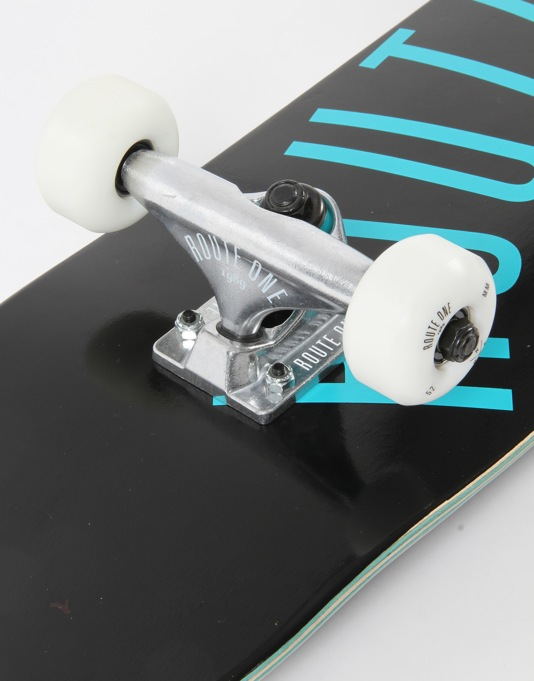 """Route One Arch Logo Mini Complete Skateboard - 7.25"""" (Mellow Concave)"""