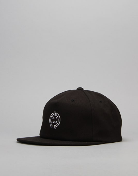 Kr3w Shit Luck Snapback Cap - Black