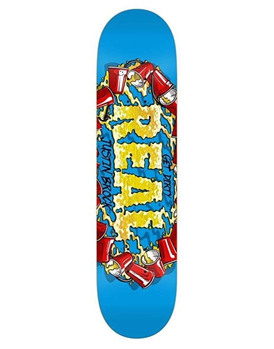 Real Brock Kegger Pro Oval Pro Deck - 8.25""